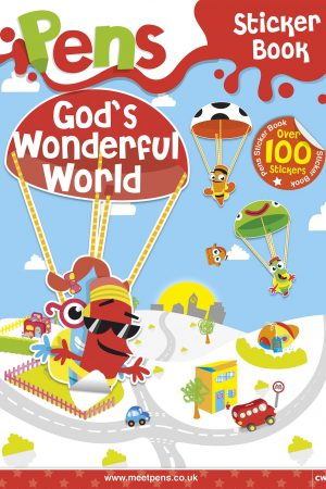 Pens Sticker Book - God's Wonderful World